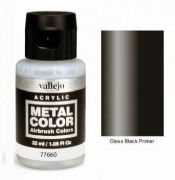 Metal Color - Gloss Black Primer 32ml<br> VAL77660
